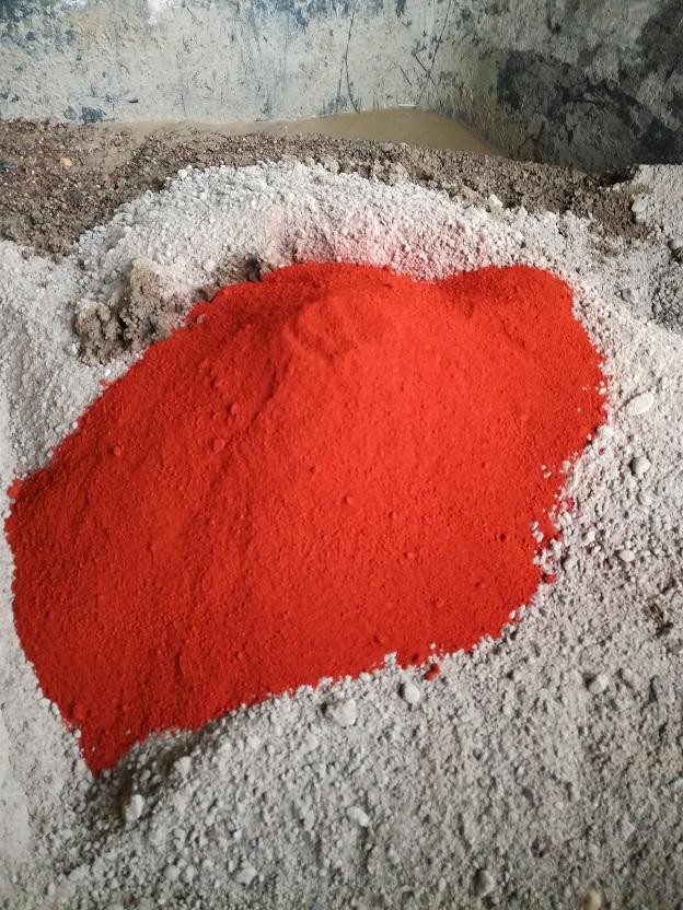 Eisenoxid - Ziegelrot