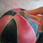 DIY Atlas Stein - Ball aufschneiden