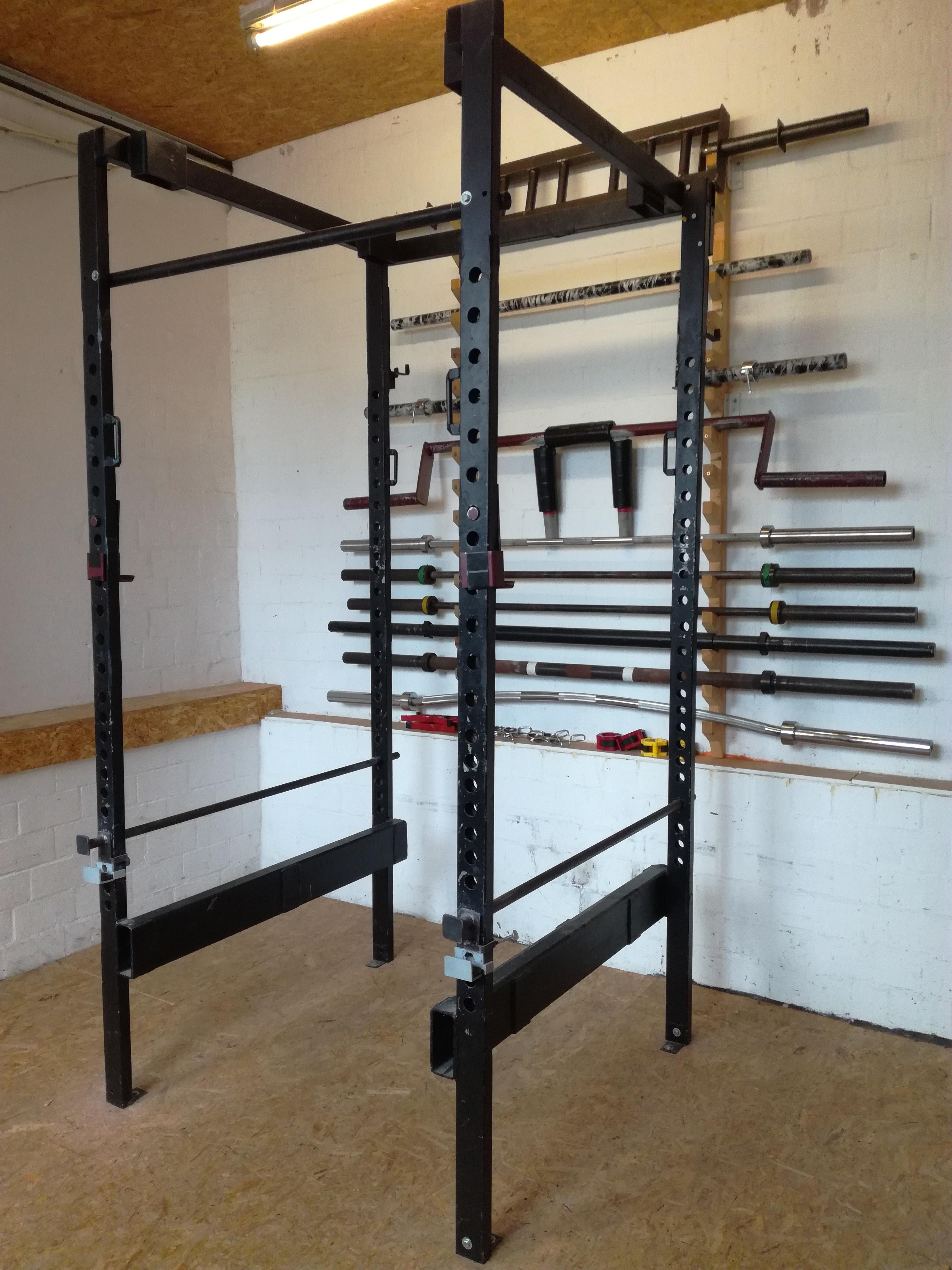 Power Rack - Eigenbau fürs Homegym